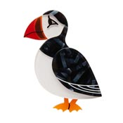 Piccolo Puffin Brooch Fan Favorite 2021 By Erstwilder - Slightly Imperfect