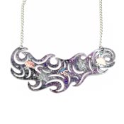 Planetary Bodies Jellyfish Necklace By Kimchi And Coconut