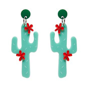Prickly Pair Earrings By Erstwilder
