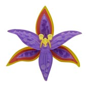 Queen Of Sheeba Orchid Brooch By Erstwilder