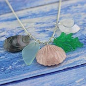 Rock Pools Necklace By Kimchi And Coconut