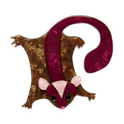 Saba The Sweet Sugar Glider Brooch By Erstwilder Fan Favorite