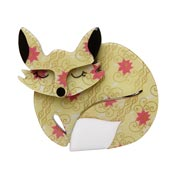 Sacha Sleeping Fox Brooch By Erstwilder Fan Favorite 2019