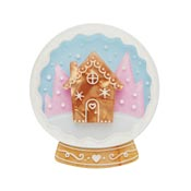 Seasons Greetings Snow Globe  Brooch By Erstwilder 2019 Recolor - SOLD OUT