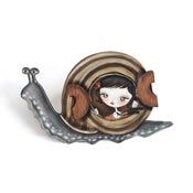 Snail Brooch By Laliblue - Coming Soon!