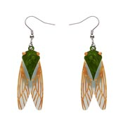 Summer Songstress Cicada Earrings By Erstwilder