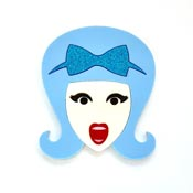 Talented Tracy Brooch By Tantalising Treasures