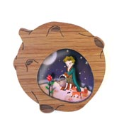 The Little Prince And His World Brooch By Laliblue