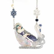 The Snow Queen Necklace By Laliblue - Coming Soon!