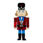 Tiny Tin Soldier Brooch By Erstwilder