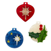 Trinket Trio Ornament Brooch Set By Erstwilder