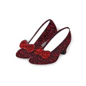 Ruby Red Slippers Brooch By Tantalising Treasures