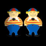 Tweedles Brooch Set By Tantalising Treasures