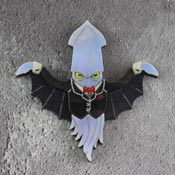 Vampire Squid Brooch By Gory Dorky