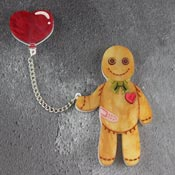 Vincent The Reformed Voodoo Doll Brooch By Gory Dorky