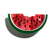 Watermelon Slice Brooch By Tantalising Treasures