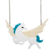 Wing And A Prayer Pegasus Necklace By Erstwilder
