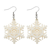 Winter Wonderland Snowflake Earrings By Erstwilder