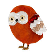 Young Archimedes Owl Brooch By Erstwilder Fan Favorite Imperfect