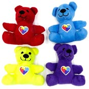 Autism Teddy Bear In Four Colors