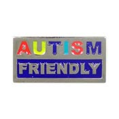 Autism Friendly Pin