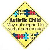 Autistic Child Sticker