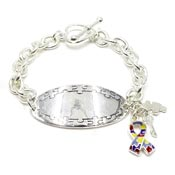 Engraveable Autism Awareness Bracelet