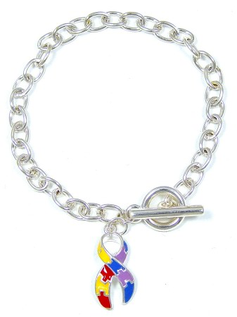 Simple Autism Toggle Bracelet