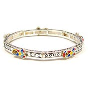 Stackable Autism Ribbons All Around Bracelet