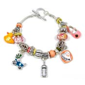 Baby Love Slider Bead Bracelet