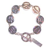 Moms Kitchen Hours Toggle Bracelet