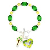 Recycling Is A Bright Idea Bracelet