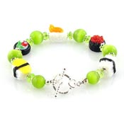 Sushi With Wasabi Bracelet By Iris