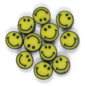 Mini Happy Face Beads