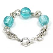 Blue Bubble Bracelet