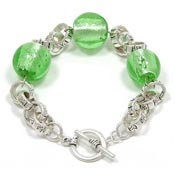 Green Bubble Bracelet