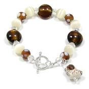 Good Doggie Beaded Bracelet
