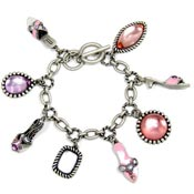 Bejeweled Shoes Bracelet