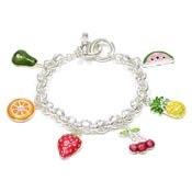 Fruit Toggle Bracelet
