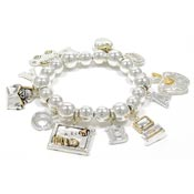 Two Tone Teacher School Bracelet By Best