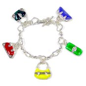 Multicolor Purse Bracelet