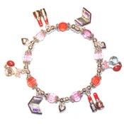 Mad For Make Up Charm Bracelet