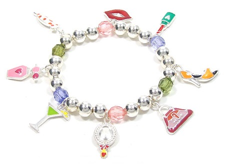 What A Girl Wants Charm Bracelet