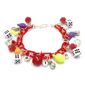 Gambling Celebration Charm Bracelets By Iris Two Styles