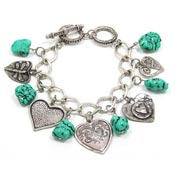 Turquoise Love Abounds Bracelet