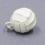 3D Volleyball Charm