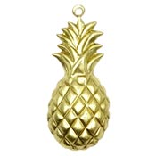 Pineapple Charm Brass