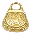 Purse Charm 2 Brass