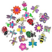 Clearance Bug And Garden Charm Lots IRREGULARS