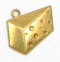 Cheese Charm Brass